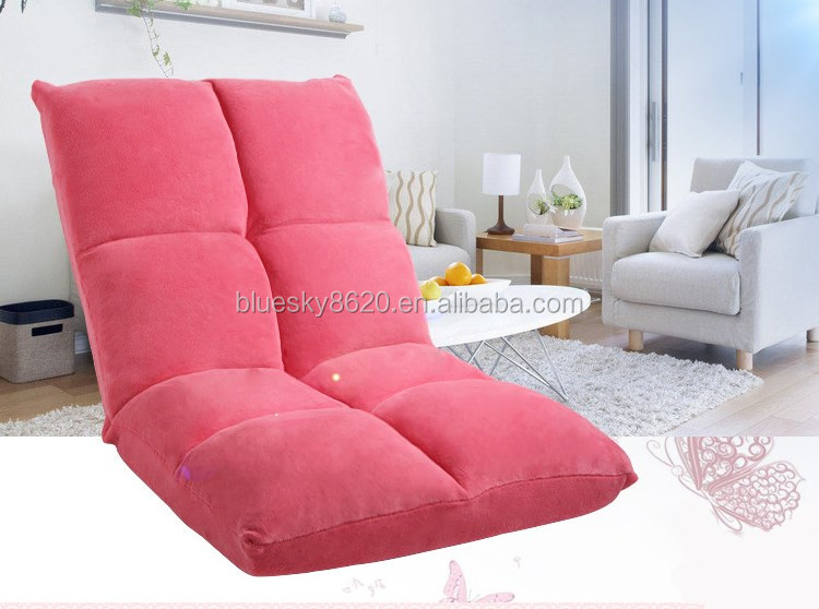 Children Floor Recliner Chair Floor Sofa Chair Legless Folding Sofa Chair