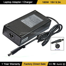 High Capacity Rechargeable 19V 9.5A 180W Laptop DVD Drive Adapter for 7.4*5.0mm
