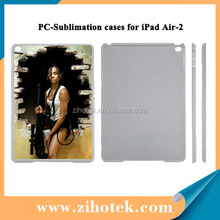High Quality 2D sublimation smart cover case for iPad Air 2