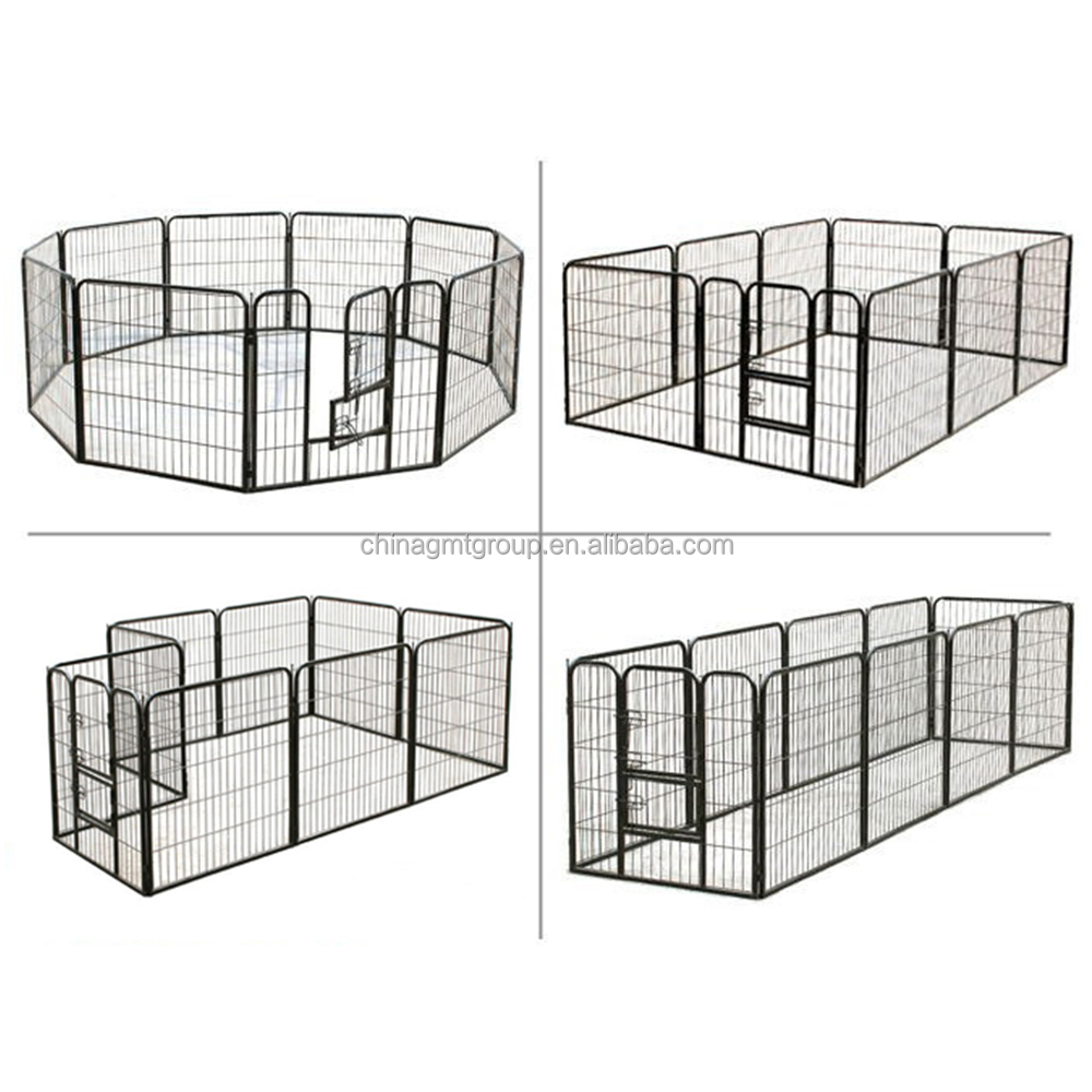 Portable Extra Large Tall Wire Dog Exercise Pen For Outside