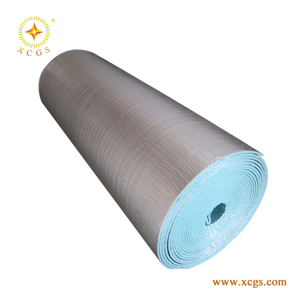 Al/XPE/Al fire rated thermal insulation waterproof material