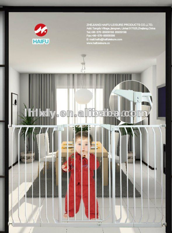 Good quality Auto-lock metal satety gate for baby and pets