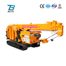 Brand New No.1 Foldable 3T Mini Crawler Crane in China with Overseas Training Service from Bete Factory