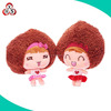 2015 new design stuffed plush fashion doll for children