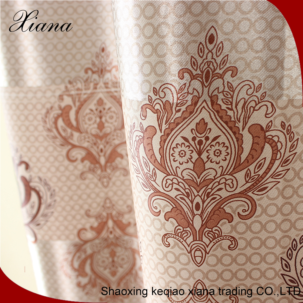 Project fabric modern printing curtain