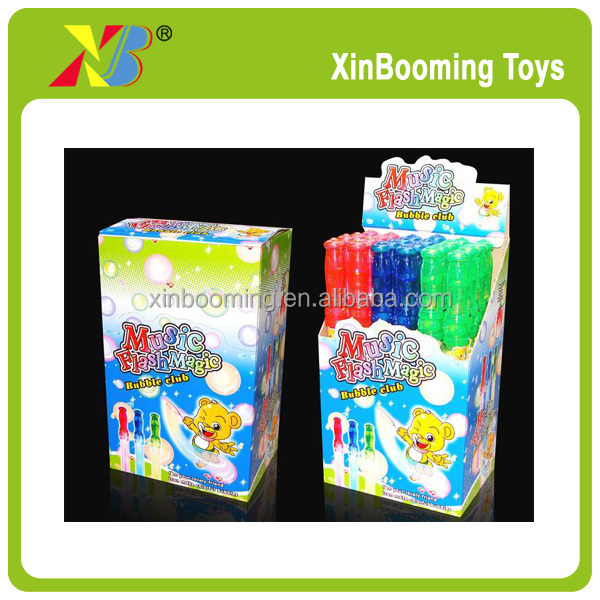 Summer toy Bubble Stick With Light,music Promotion Gift toy