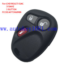 Keyless Entry Remote Key Fob 3button 315MHz Key For Chevrolet Cadillac GM LHJ011 Control