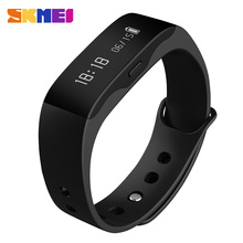 Smart Wristband SKMEI L28T LED watch Waterproof Fitness Sleep Tracker Alarm pedometer calorie Bluetooth Wristwatch