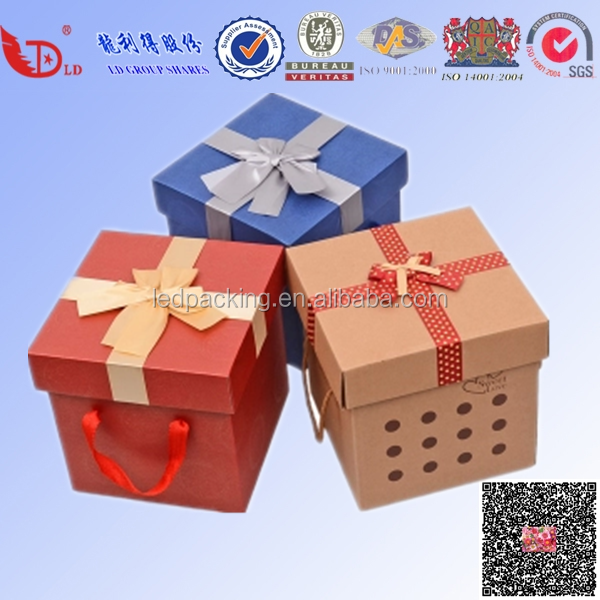 Fantastic design for Custom Logo Luxury Paper Cardboard Jewelry Gift Box