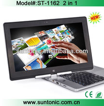 11.6 inch windows8 tablet pc 3G sim card slot with tablet and laptop 2 in 1