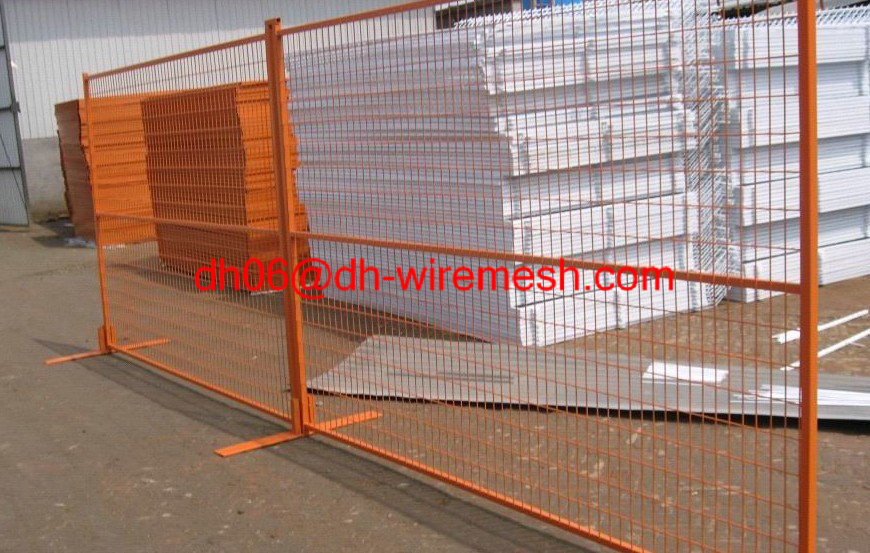 Temporary Fence Galvanzied Welded wire mesh Fencing Easy install