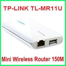 TP-LINK TL-MR11U Mini Wireless Router,wireless gateway 150M 11n 3G + Wifi + battery miniature modem