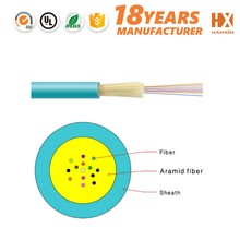 gold supplier good flexibility GJFV duct fiber optic cable