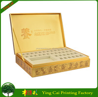 Best Quality Sales Wood Gift Box for Essential Oil / Guangzhou Cosmetic CY-SY