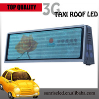Video/Taxi LED network advertising slogans car dvd audio navigation for touch screen nissan note bus led display
