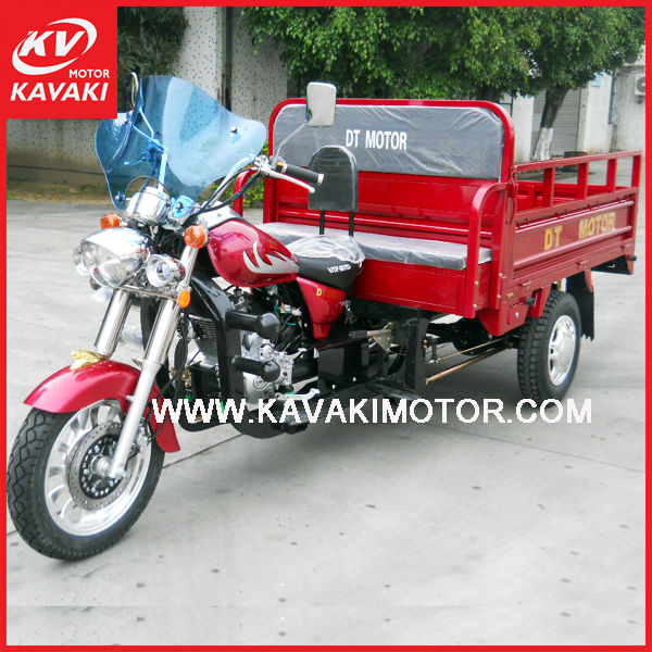 KAVAKI Brand New 150cc Chinese Motorcycle three wheel car for cargo