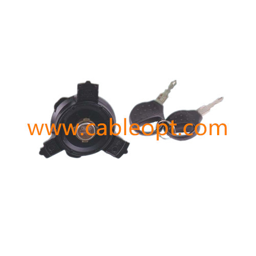 gas cap with key for Peugeot 206