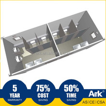 Ark Top Quality Good Price Long Lifespan Flatpack Prefabricated Steel Mining Field Public restrooms