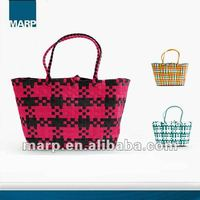 2012 Recycle Straw Wicker Bag