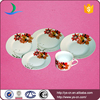 20pcs beautiful round ceramic White houseware