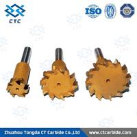 High Quality Tungsten Carbide Cutter, End Mill, Carbide End Mill from Zhuzhou Tongda