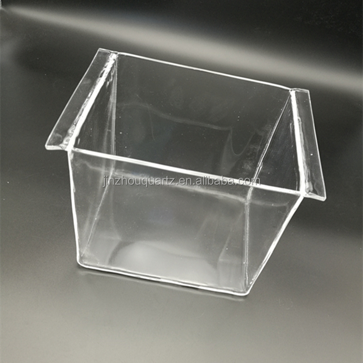 High Quality Clear Quartz Glass Container