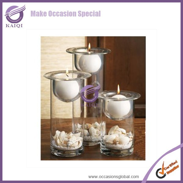Golden Supplier Cheap Wholesale Events Wedding Decorative Tealight Tea Light Votive Candle Clear Thick Glass Holder