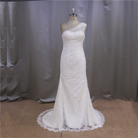 Design sexy stretch half sleeves mermaid 2012 the most popular wedding dresses