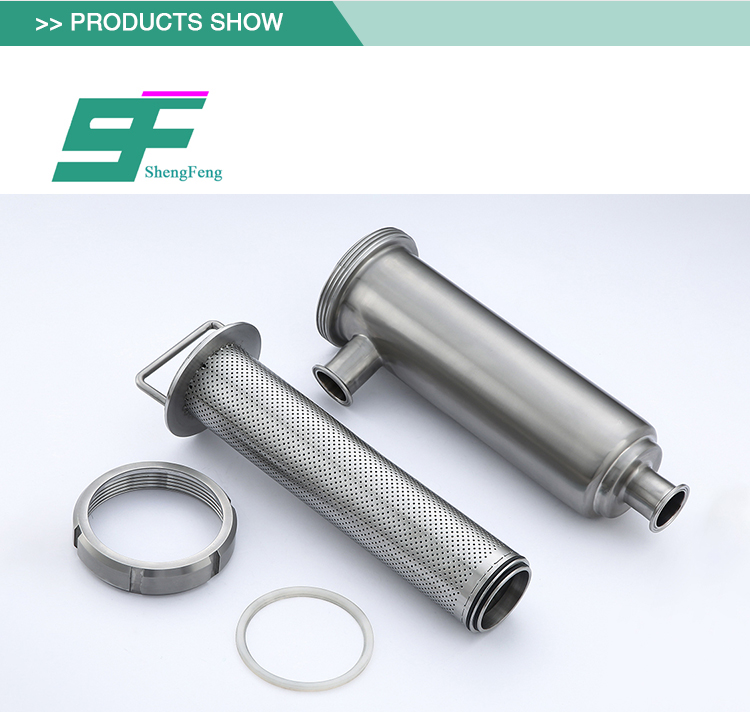 wholesale exquisite workmanship stainless steel sanitary angle filter