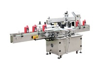 Automatic type double side labeling machine with world famous brand electronic parts