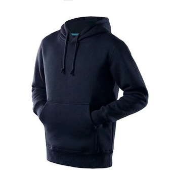 2018 new model OEM high thailand quality plain navy blue soccer hoodie