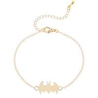Unique Cute Bling Batman Bracelet Super Hero Halloween Bracelets Fashion Jewelry Gift for Girls and Women