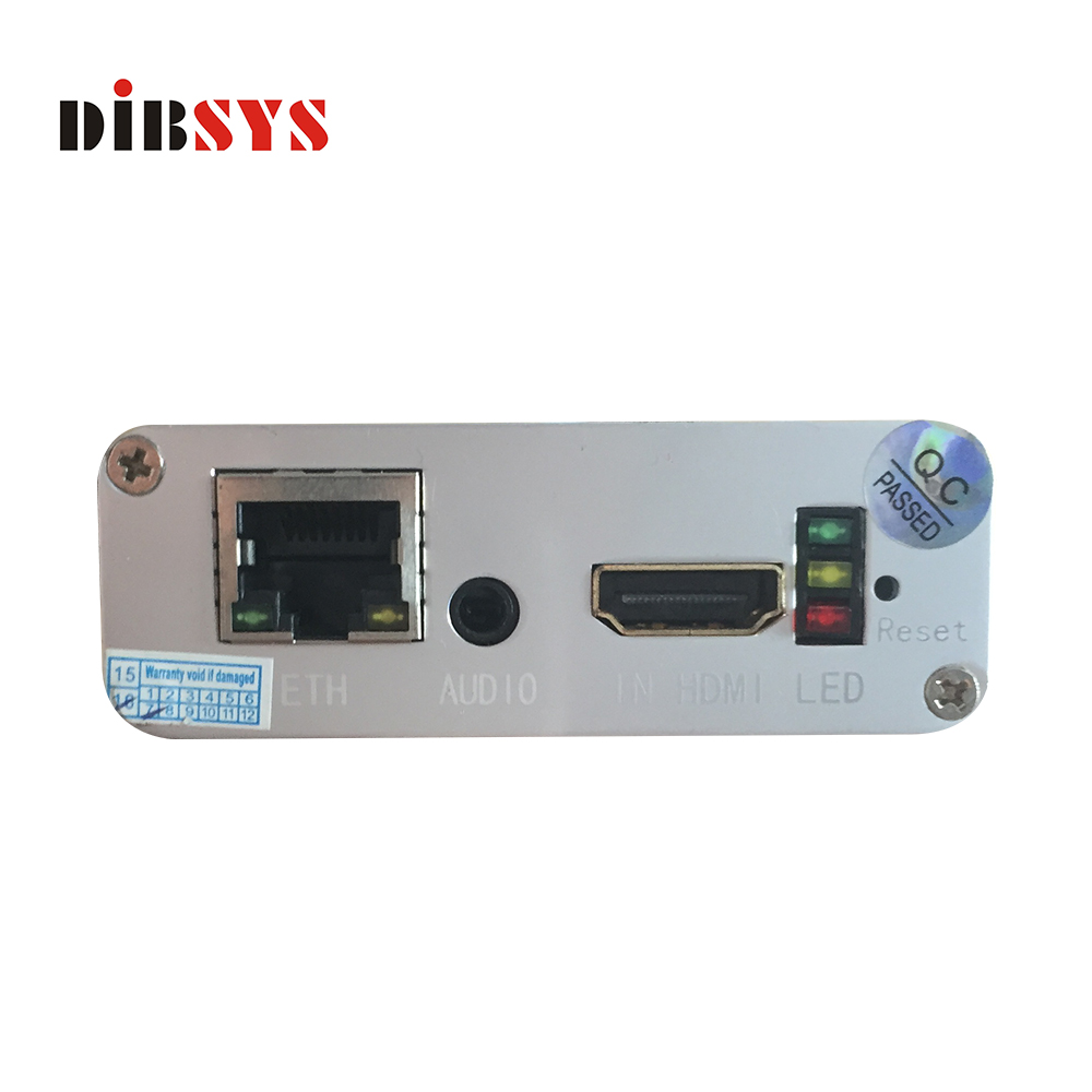 Audio Line and AV+YPbPr+VGA+HDMI H.264/H.265/AAC video to ethernet converter,hardware ip streamer,video processor