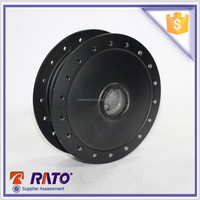 Good Price And With The Good Material Black Front Drum Brake Motorcycle Wheel Hub