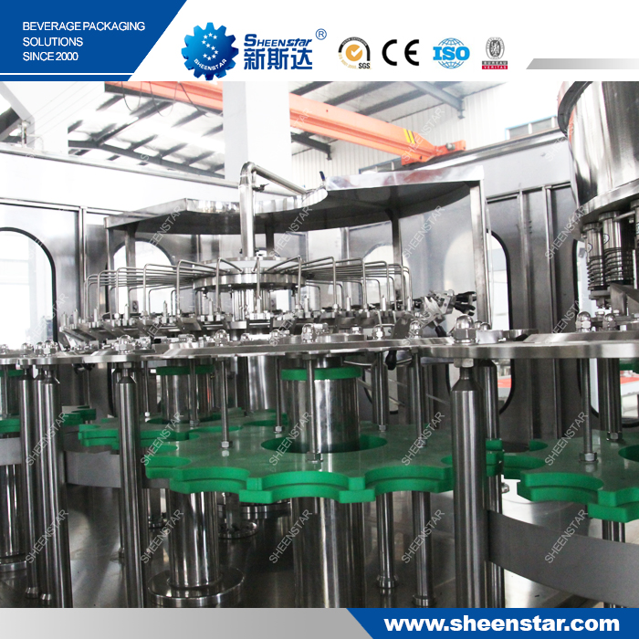 5000BPH 2L filling monoblock vitamin water processing machine