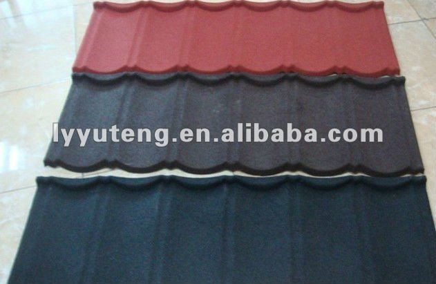 Shingle Durable and Sun Stone Coated Metal Roof cheap price