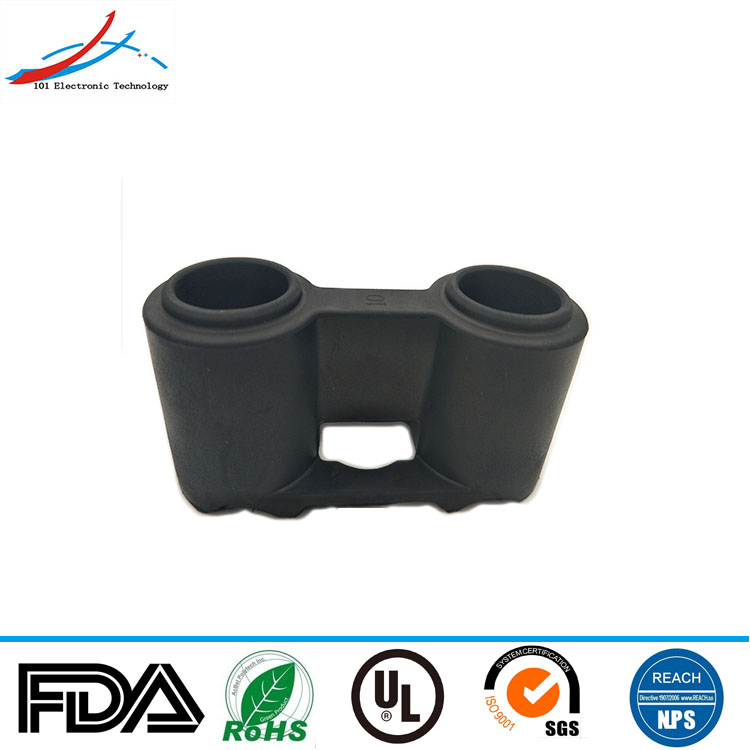 Black rubber base for drainage controller jacket