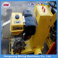 walk behind concrete cutter saw road cutting machine
