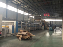 High strength best price 5 layers corrugated board production line / corrugated cardboard making machine