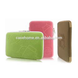 Good Quality Factory Price Emboss LOGO Zipper Neoprene Bag Case For Ipad Mini