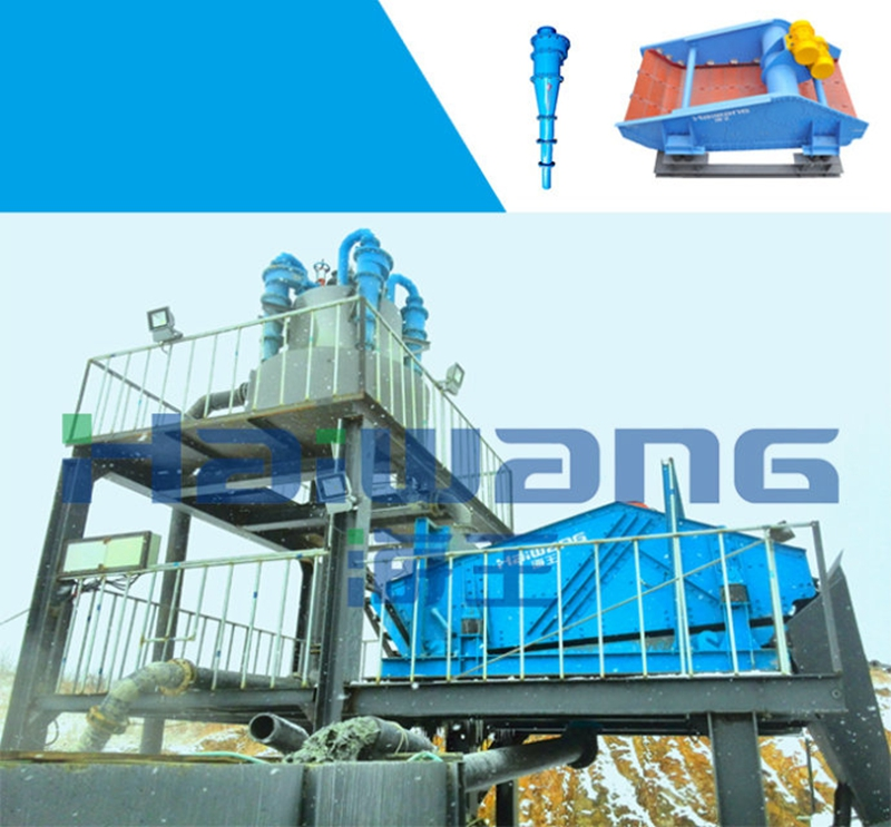 Haiwang High Capacity Silica Sand Washing And Screening For Sale
