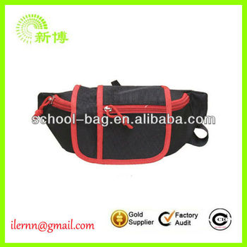 nylon leisure and outdoor use waist bags for men