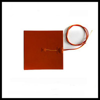 Electric Flexible Silicone Rubber Heating Element 24V
