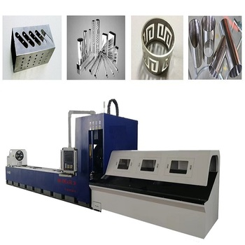 CNC Fiber Laser Metal Cutting Machine For Round And Square Pipe