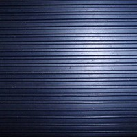 3mm Wide Ribbed Rubber Flooring