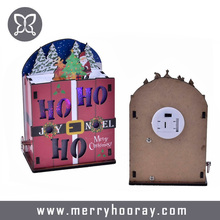 Best selling music box wooden for Christmas gift and decoration