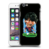 3D embossed comic football star PC TPU plastic mobile phone case for iphone 5