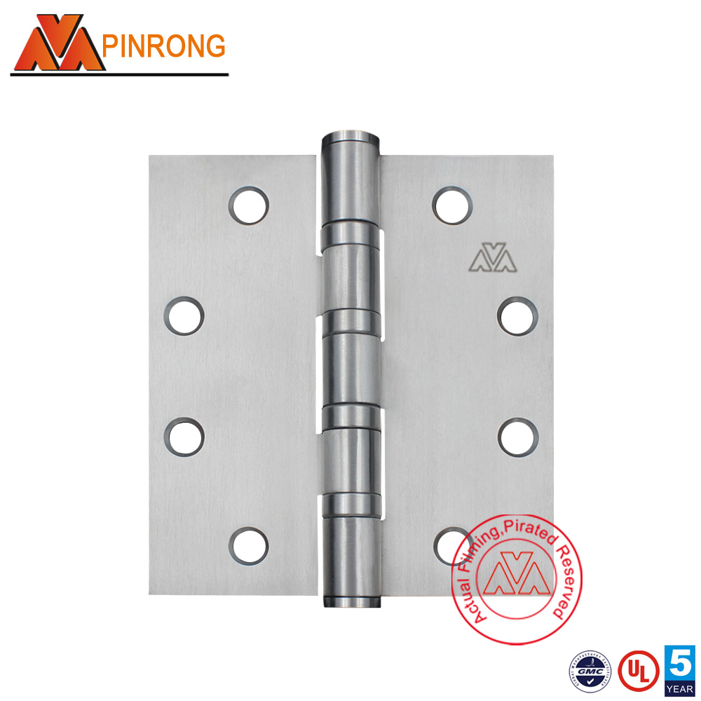 4.5inch High quality OEM factory staintess steel real ball bearing wooden door hinge for heavy door
