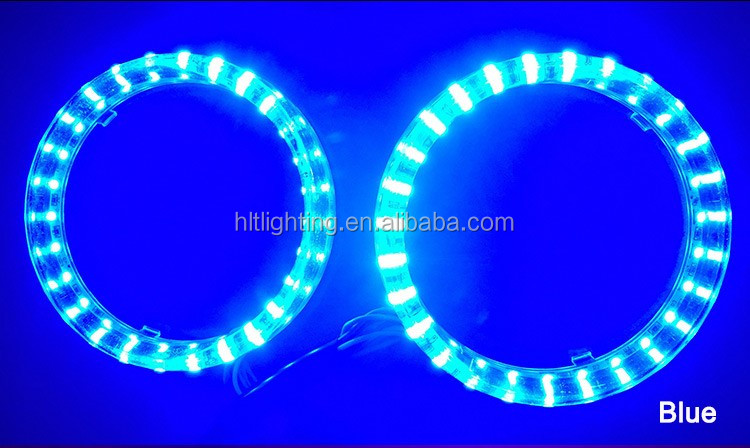 Hot RGB LED Color Changing Angel Eyes at 80mm and 95mm