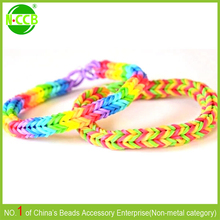 Alibaba Express silicon rubber band glow in the dark rubber band bracelets
